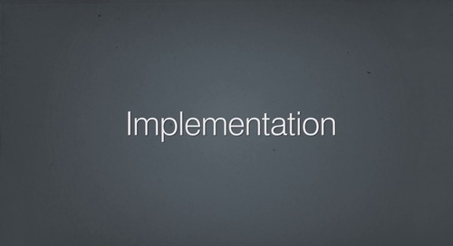 The Security Center: Implementation