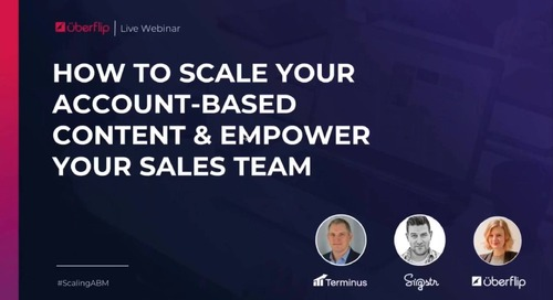 How to Scale Your Account-Based Content and Empower Your Sales Team