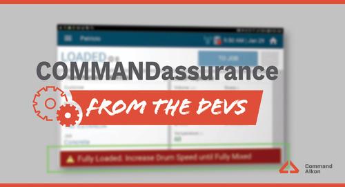 COMMANDassurance | Release Update
