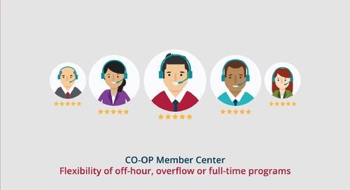 CO-OP Member Center Member Services