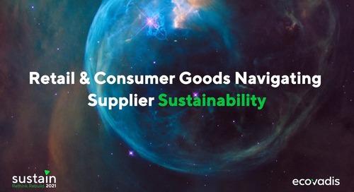 Grande Consommation, Distribution et chaînes d'approvisionnement mondiales : quelle place pour la durabilité ?