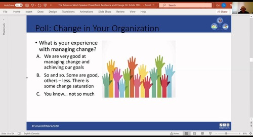 Building Resilience into Change Initiatives in the New World - Ori Schibi