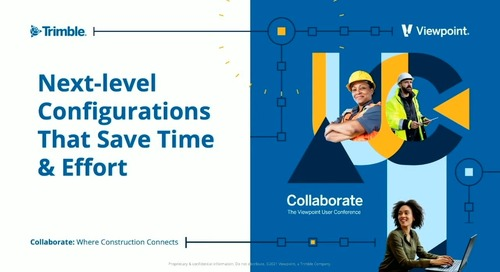 Vista - Advanced Users: Next Level Configuration that Saves Time & Effort
