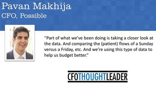 When Mission-Driven Means Data-Driven | Pavan Makhija, CFO, Possible