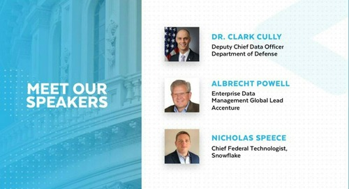 Data Champions Virtual Meetup: Creating a Data-Centric Culture at Department of Defense