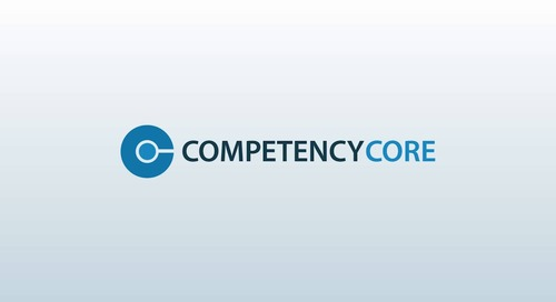 CompetencyCore Software Overview