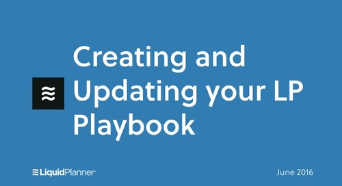 Creating and updating your LP Playbook