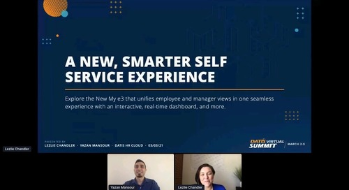 A New Smarter Self Service
