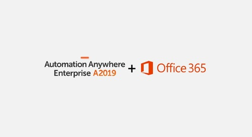 Automate Directly from Excel | Automation Anywhere Enterprise A2019