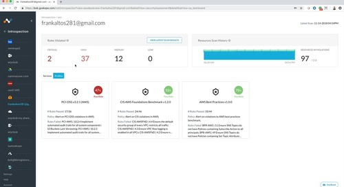 Demo - Continuous security assessment for AWS