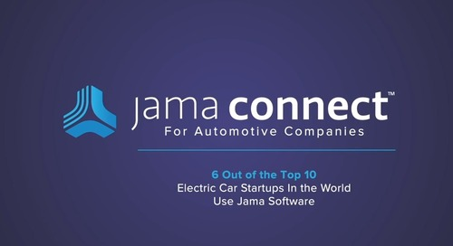 Solution: Jama Connect™ for Automotive Companies