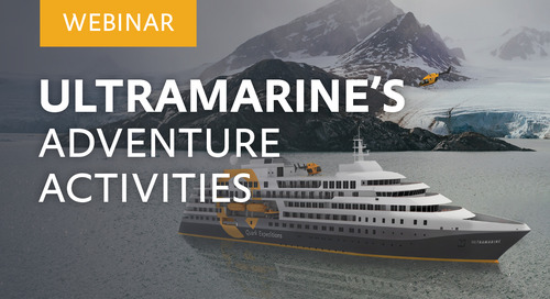 "Webinar: ""Ultramarine's Adventure Activities"" with Dagny Ivarsdottir, Adventure Guide."