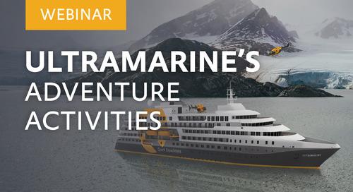 "Webinar: ""Ultramarine's Adventure Activities"" with Dagny Ivarsdottir, Adventure Guide."
