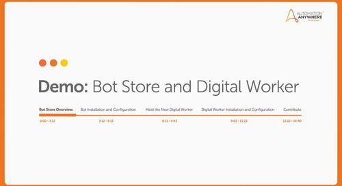 Bot Store Overview