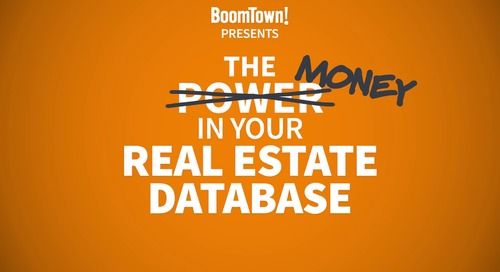 The Money in Your Real Estate Database