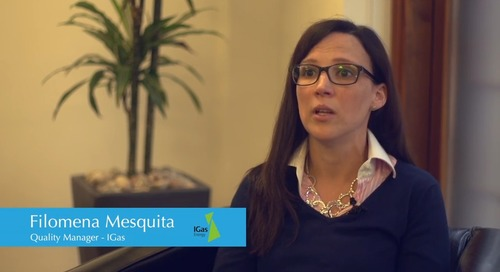 Customer Case Study Video: IGas - Meeting ISO 9001 Certification Requirements
