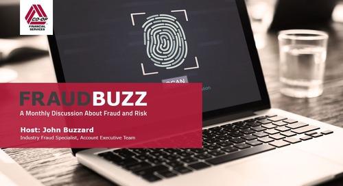 FraudBuzz - March 2017