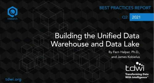 TDWI Webinar - Building the Unified DW and Data Lake