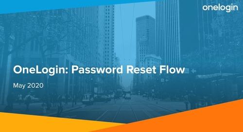 Password Reset Flow