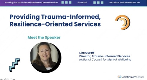 Providing Trauma-Informed, Resilience-Oriented Services