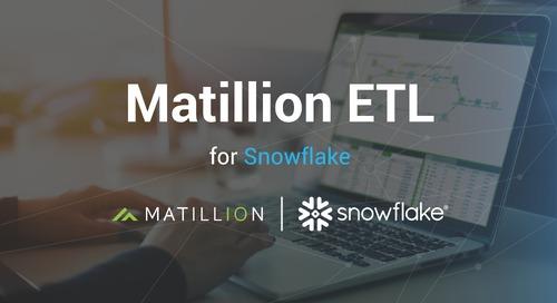 Introducing Matillion ETL for Snowflake