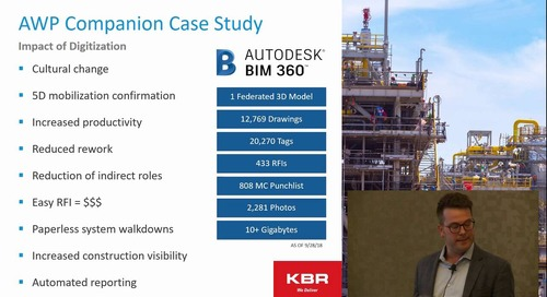 Autodesk Construction Technology for Advanced Work Packaging