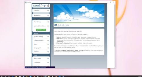 Coolfront Mobile - Webinar