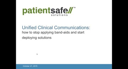 Webinar: On Demand, Unified Clinical Communications