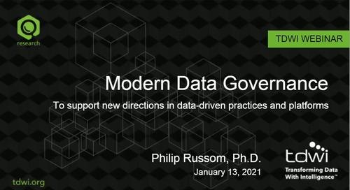 TDWI Webinar - Modern Data Management