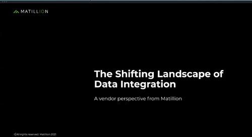 Dataversity Webinar  The Shifting Landscape of Data Integration