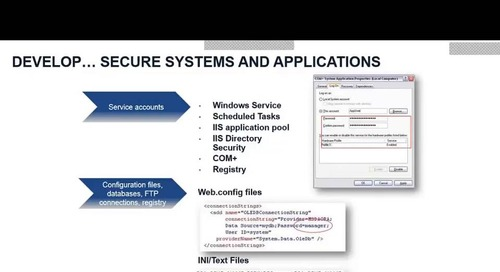 CyberArk Webinar: Securing and Isolating Privileged Access to Meet PCI DSS 3.2 Compliance