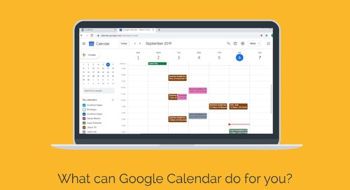 QuickBooks and Google Calendar