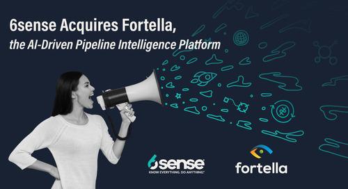 Fortella, welcome to 6sense!