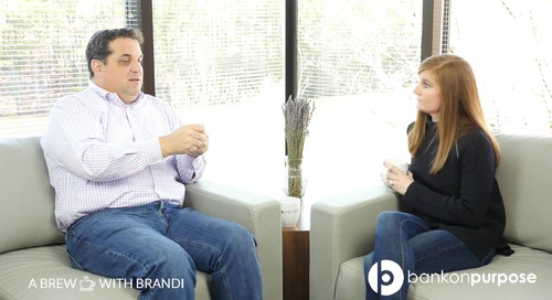 A Brew with Brandi: Carl Ryden on why BankOnPurpose is unique