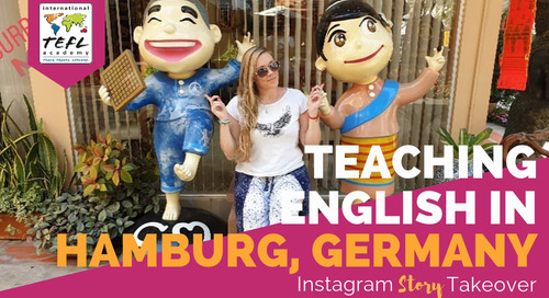 Day in the Life Teaching English in Hamburg, Germany with Tamie Arietta
