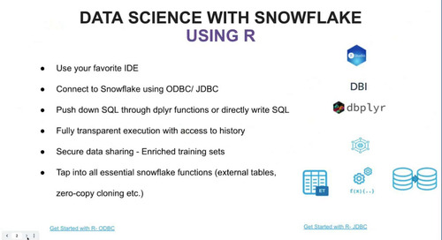 How to use Snowflake Native Connectors for Machine Learning