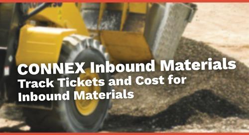 CONNEX Inbound Materials | TicketPro for Inbound Materials