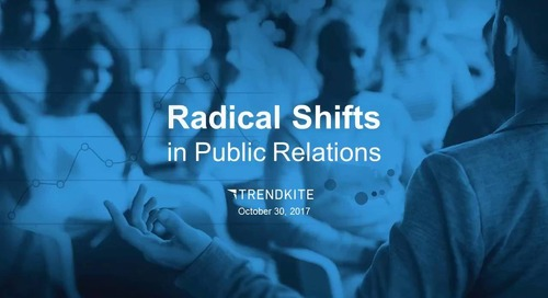 Radical Shifts in Public Relations