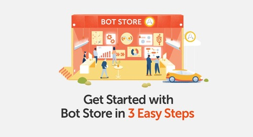 Use Bot Store in 3 Easy Steps