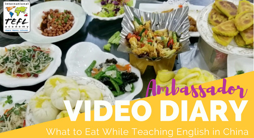 What to Eat While Teaching English in China
