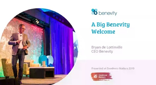 A Big Benevity Welcome