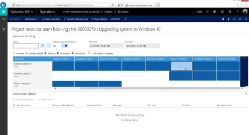 Using Internal Projects and Accounting in Dynamics 365 for Finance and Operations - Enterprise Edition
