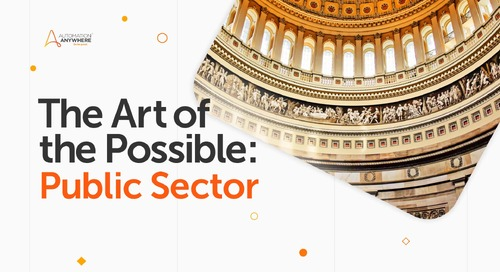Art of the Possible: Public Sector & RPA