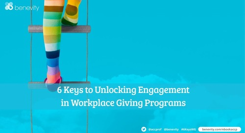 Webinar: 6 key strategies to boost engagement in your workplace giving program