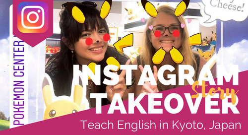Teaching English in Kyoto, Japan - TEFL Social Takeover with Charlotte Cathey