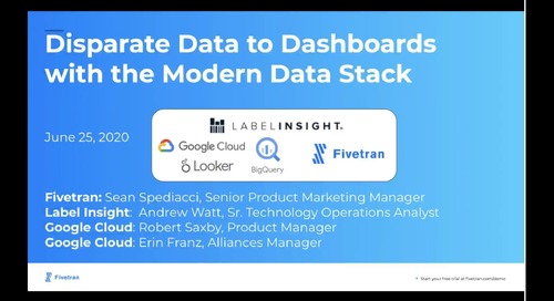 Disparate Data to Modern Data Stack Dashboards