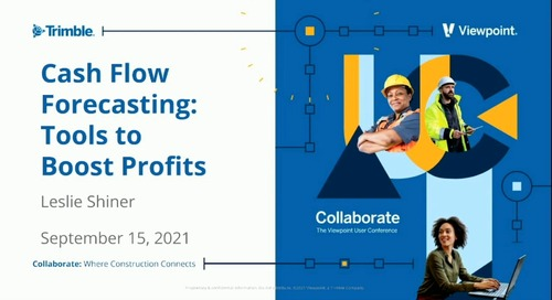 Industry Pro: Cash Flow Forecasting - Tools to Boost Profits