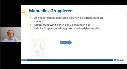 Tekla Structures 2020 - Neuerungen Massivbau