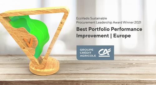 Sylvie Robin Romet, CPO, pour le groupe Crédit Agricole, lauréat 2021 Europe