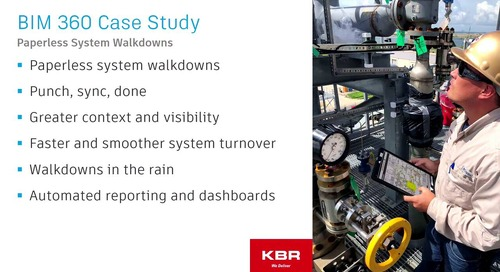 Case Study: Using BIM 360 on an Industrial Construction Project
